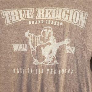True Religion Tops - True Religion V-neck Long Sleeve Tshirt